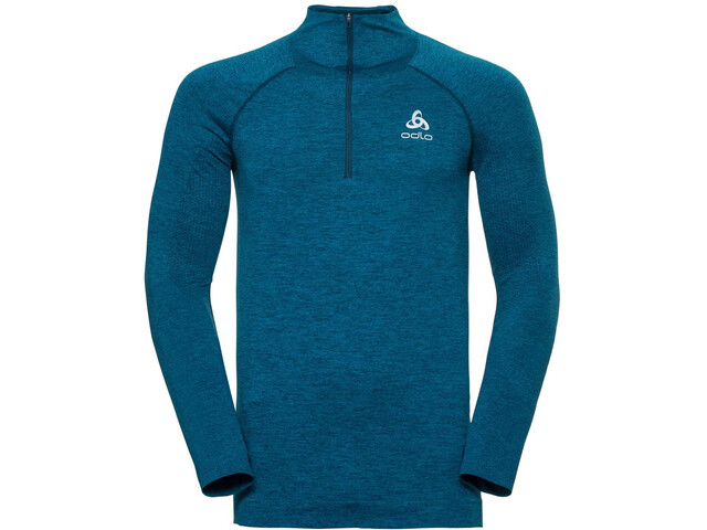 1a76f4b51e427 Odlo Irbis Warm - Camiseta manga larga running Hombre - azul